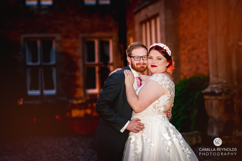 bride and groom colourful fun wedding photography uk