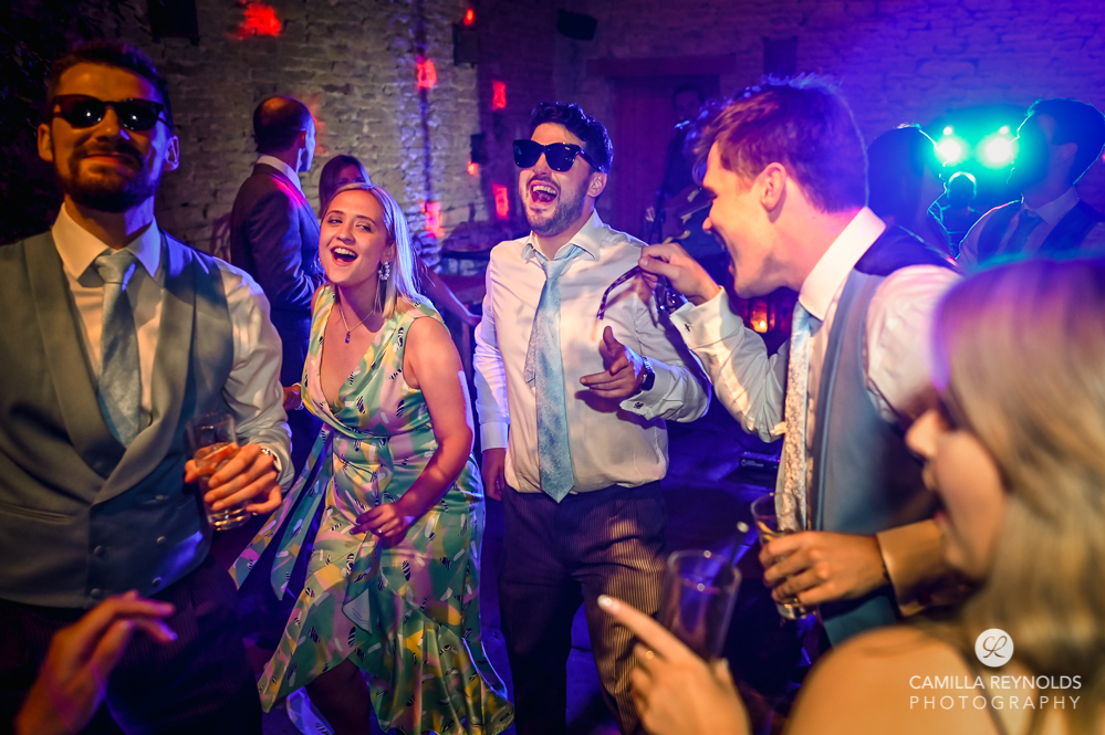 wedding disco bright colourful photography cripps barn
