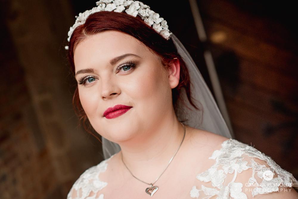 bridal portrait Cotswolds wedding photography