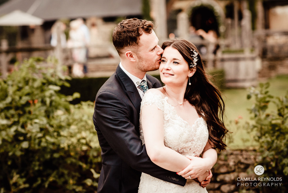 bride and groom cripps old gore stone barn wedding photography