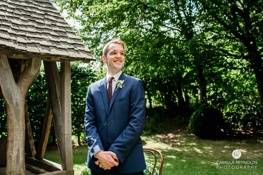 groom cripps barn wedding