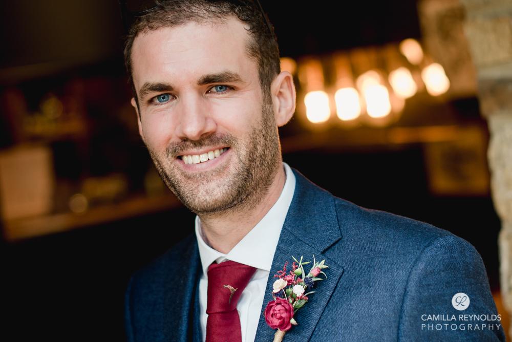 groom smiling manor uk wedding