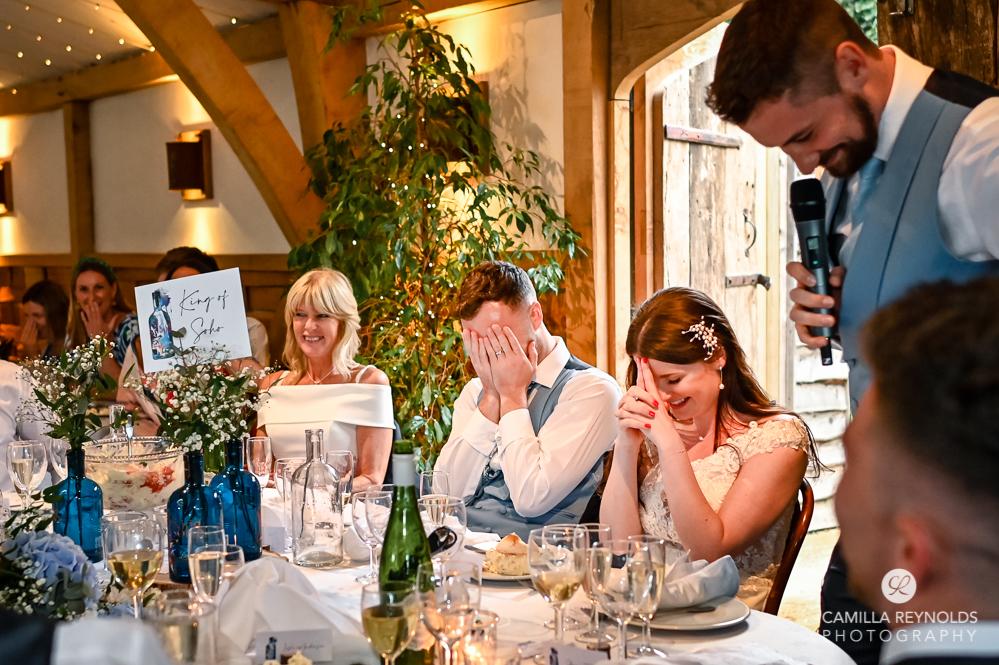 wedding speeches fun natural wedding photography cripps barn