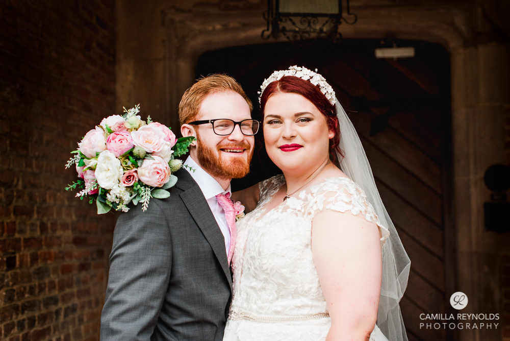 happy bride and groom uk bright colourful wedding photography