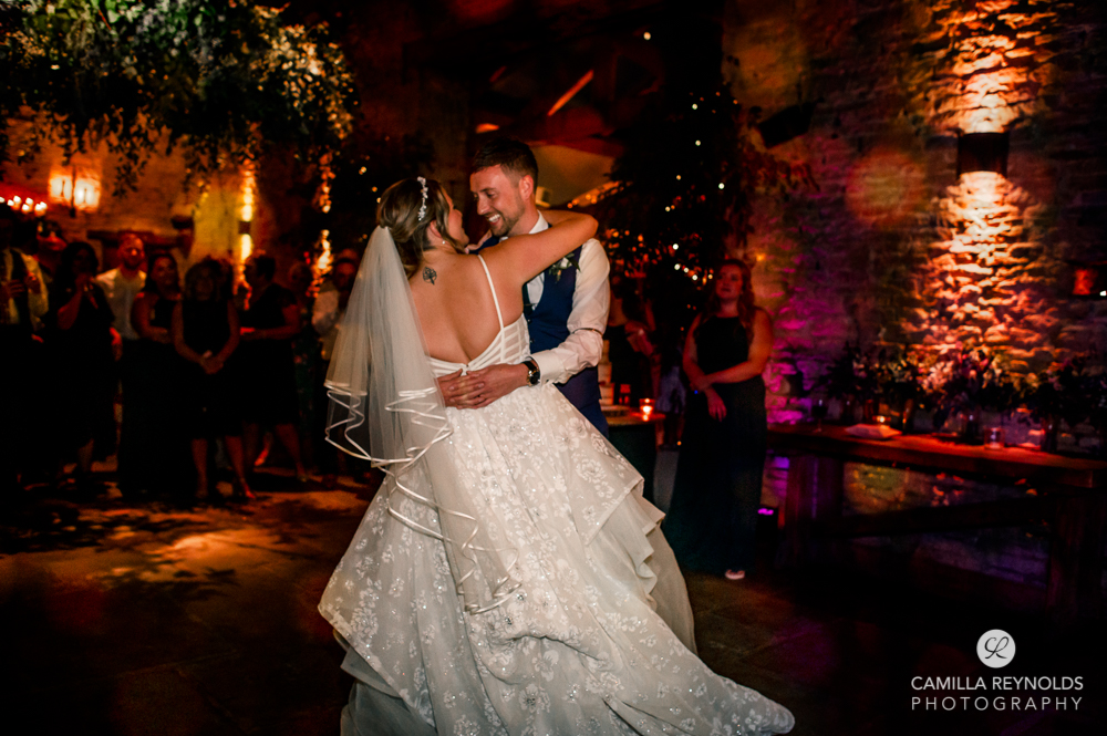 first dance natural wedding photography old gore stone barn uk