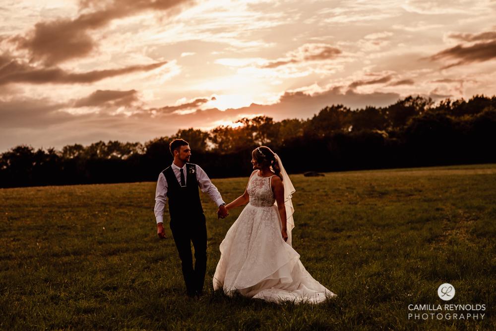 dark moody wedding photography bride and groom Gloucestershire