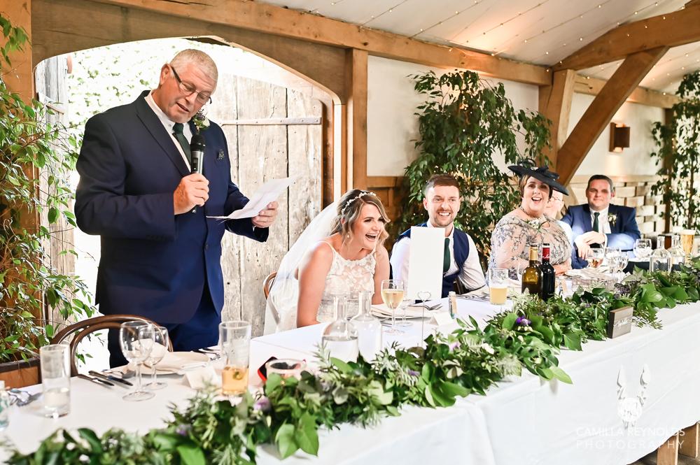 wedding speeches cripps old gore stone barn