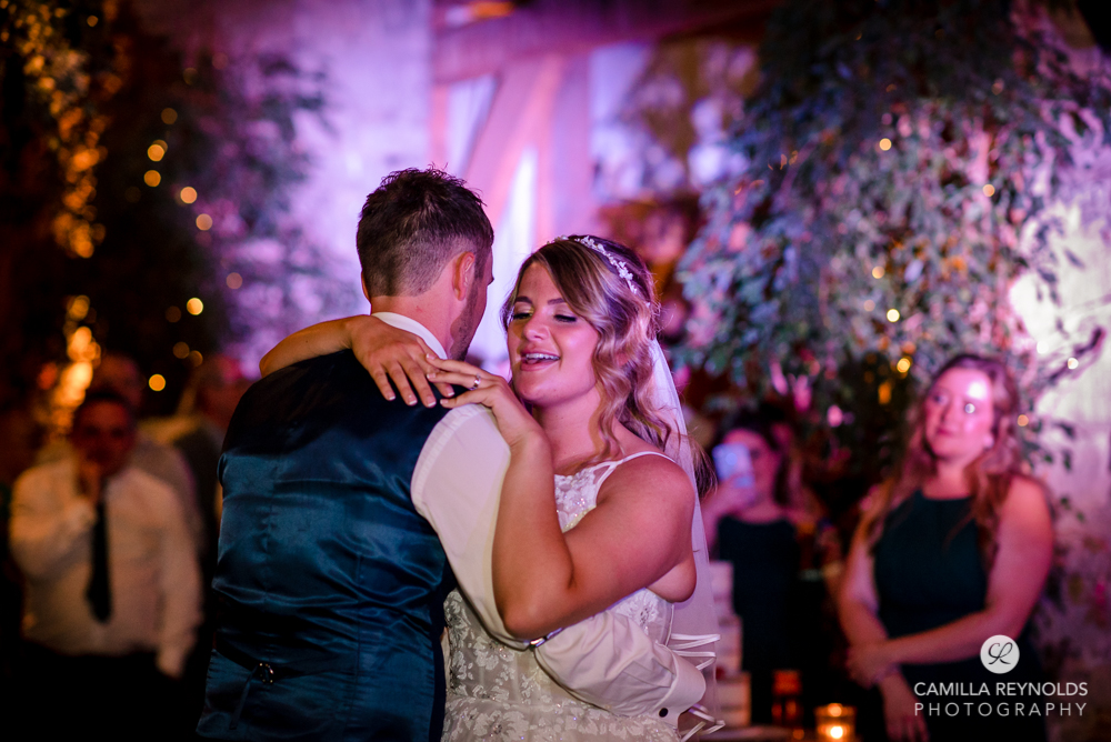 first dance wedding photography Cripps Old gore barn Gloucestershire